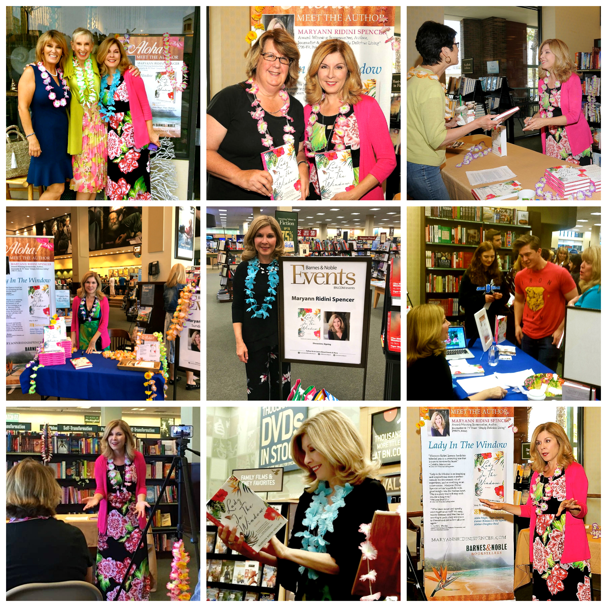 Barnes & Noble Book Signings